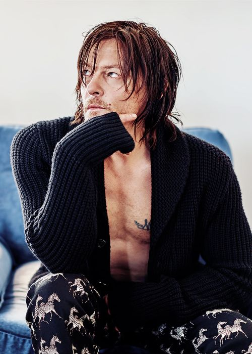 Norman Reedus photographed by Tommaso Mei for Vanity Fair Italia