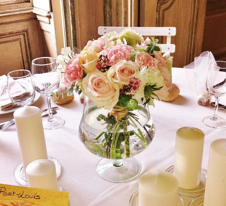 17 best images about centre de table chez fleur on - Vase plat centre de table ...