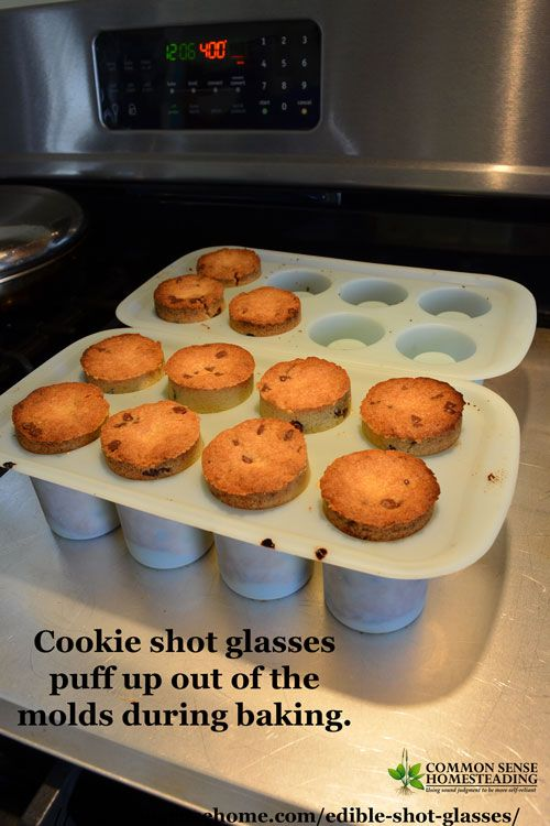 Fill these edible shot glasses with anything you like for a memorable party treat. Use a shot glass mold to create cookies, jello, hard candy or ice cups.
