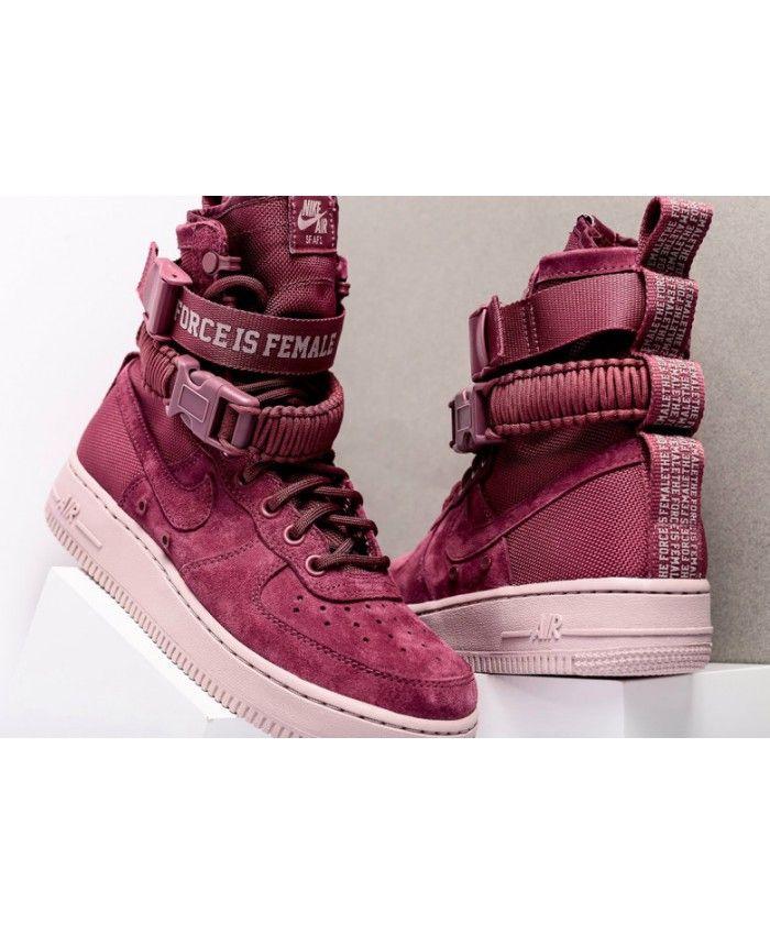 best sneakers ad4f5 28289 Nike Af Air Force 1 Vintage Wine Shoes Sale UK