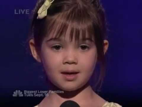 "Kaitlyn Maher ""What A Wonderful World"" Louis Armstrong - Semi Final - America's Got Talent - YouTube"
