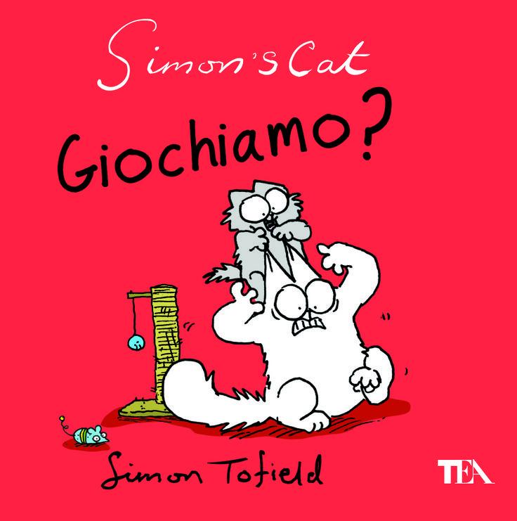 Scherzi, dispetti e malefatte del gatto più famoso del web (dal 6 febbraio 2014 - http://www.tealibri.it/generi/graphic_fumetti_e_umorismo/giochiamo_9788850233519.php).