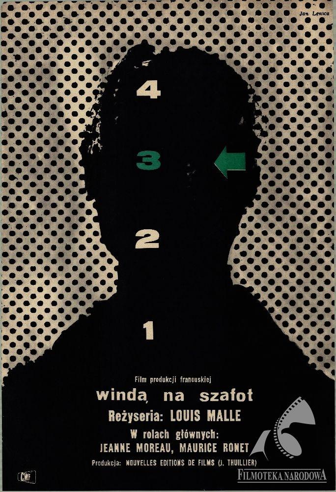 L'ASCENCEUR POUR L'ÉCHAFAUD  1958. Designer: Jan Lenica. Film: France.