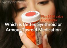 Which is better, Synthroid or Armour Thyroid Medication HypothyroidMom.com A licensed pharmacist of 25 years shares important information every #hypothyroidism patient should know about #thyroid medications
