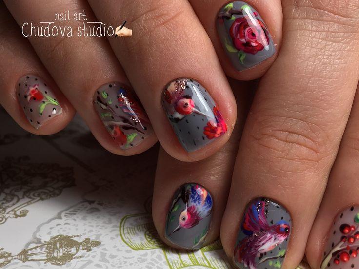 Маникюр   Видеоуроки   Nailart   ногти   nails   Naildesign   Чудова студия Киев @chudovastudio   instagram  