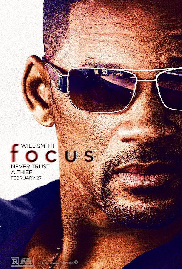 Focus poster w/ Will Smith