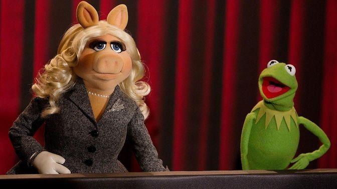 Die Muppets Show - Miss Piggy und Kermit der Frosch (Quelle: reuters)