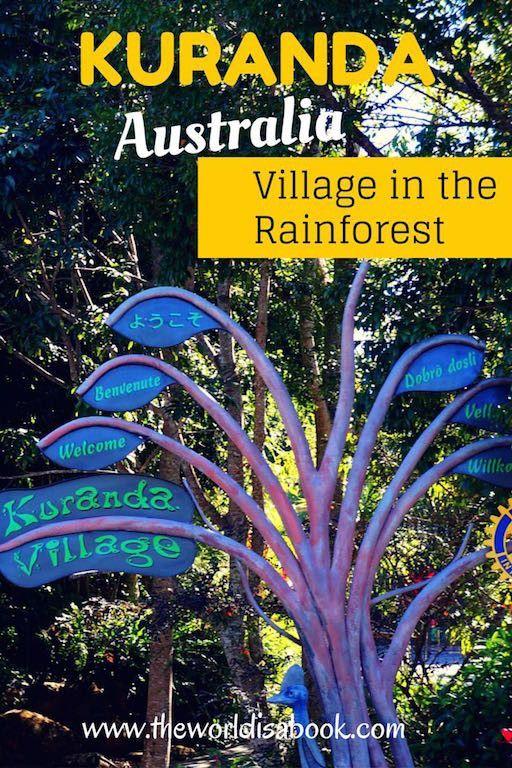 Walking through Kuranda, Australia: Village in the Rainforest | Cairns with kids | Australia with kids