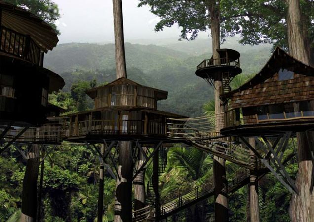 Bellavista's Biodigesting Treehouses Are Endor on Earth / The Green Life <3