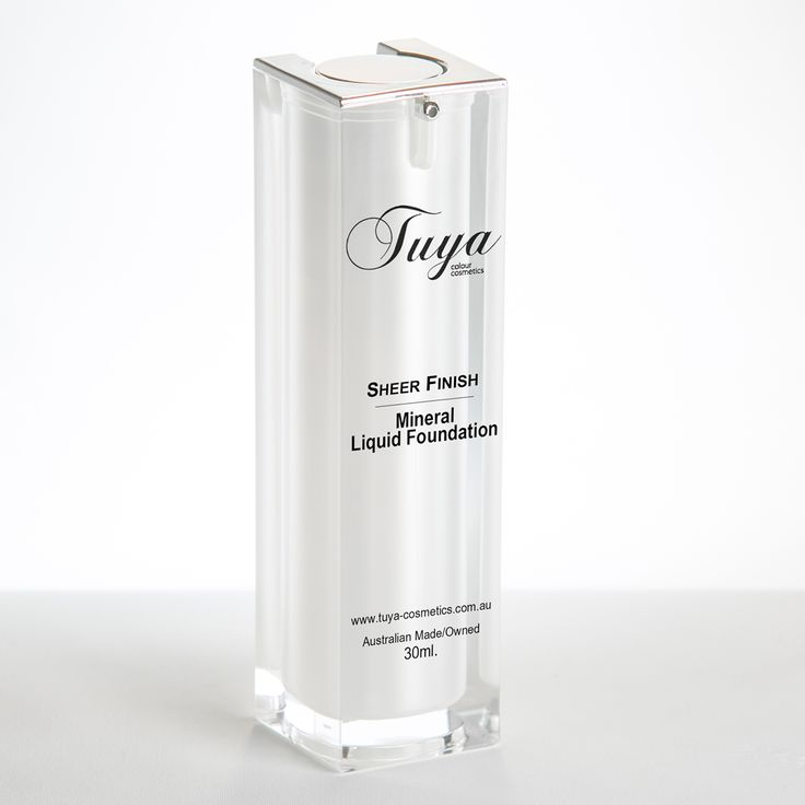 Our Sheer Finish Foundation Is a lightweight semi matte formula suitable for skin in need of a boost of hydration. It has moisturising and tone-perfecting benefits with a luxurious sheer, dewy finish. Along with our powder foundation and Flawless Finish Liquid Mineral foundation, Tuya Cosmetics has your foundation needs covered.