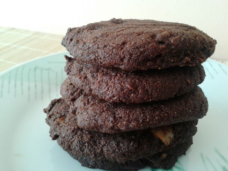 Glutén- és cukormentes vegán zabkeksz (cookie) - Csokis-céklás, és Almás-diós