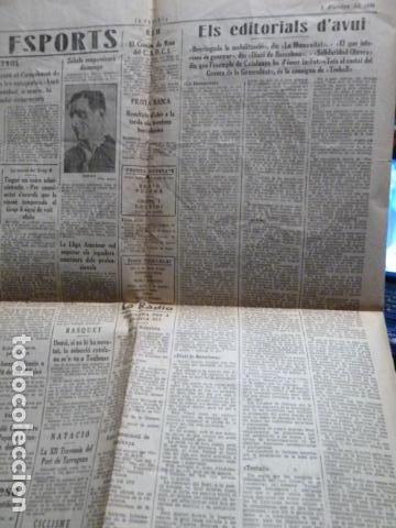Coleccionismo de Revistas y Periódicos: la rambla periodico 1 de octubre de 1936 guerra civil - Foto 2 - 79826785