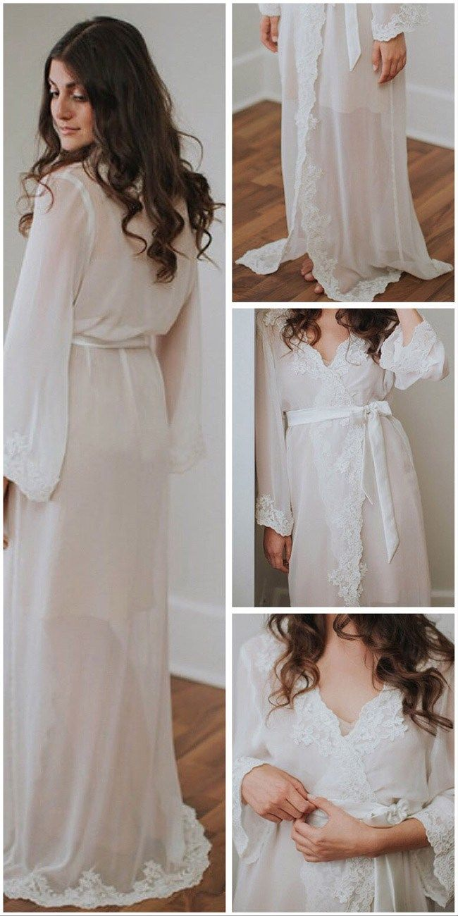 605217b42a 30+ Dreamy Etsy Bridal Robes for Your Wedding Day