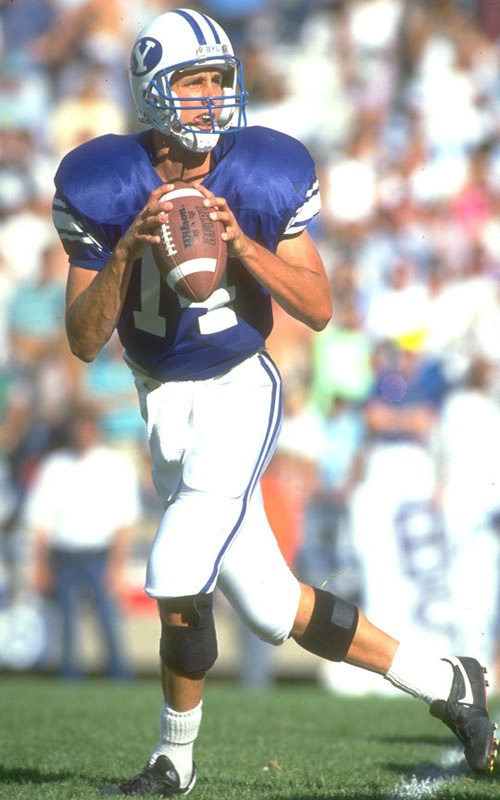 """Ty Detmer: I grew up going to all of his BYU games and got to meet him at neighbor's house!  I own a """"Heisman Ty""""! (tie)"""