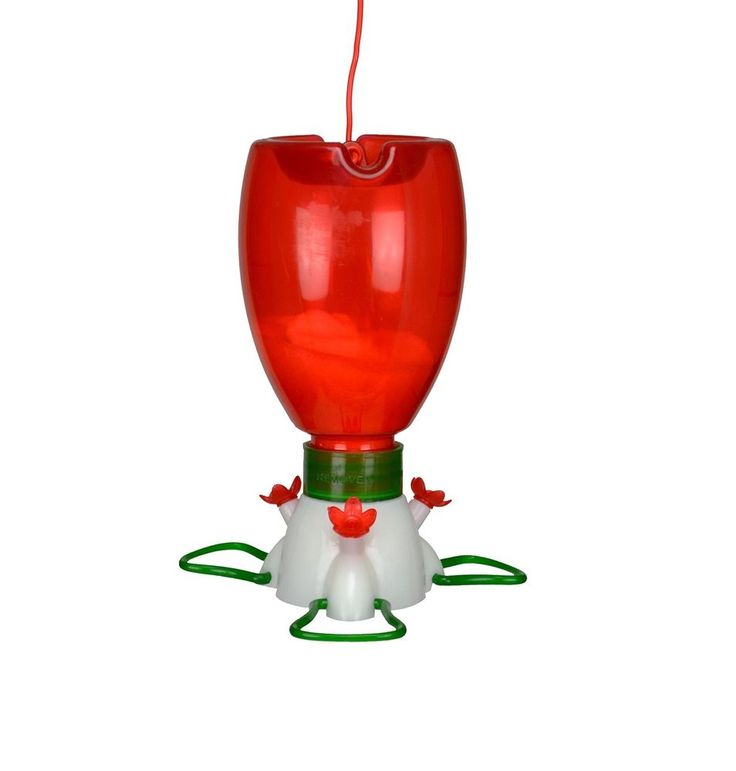 Songbird Essentials Big Red Hummingbird Feeder 3 Feeding Ports 10 oz. FREE Ship #SongbirdEssentials