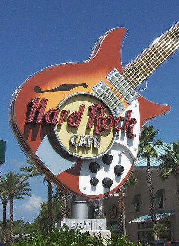Hard Rock Cafe Destin Map
