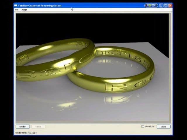 Blender e Yafaray:anello d'oro con incisioni - Analisi scena materials rendering (con sottotitoli) - #Anelli #Blender249 #Gold #Oro #Raytrace #Redbaron85 #Rendering #Videotutorial #Yafaray011 #Yafray http://wp.me/p7r4xK-dY