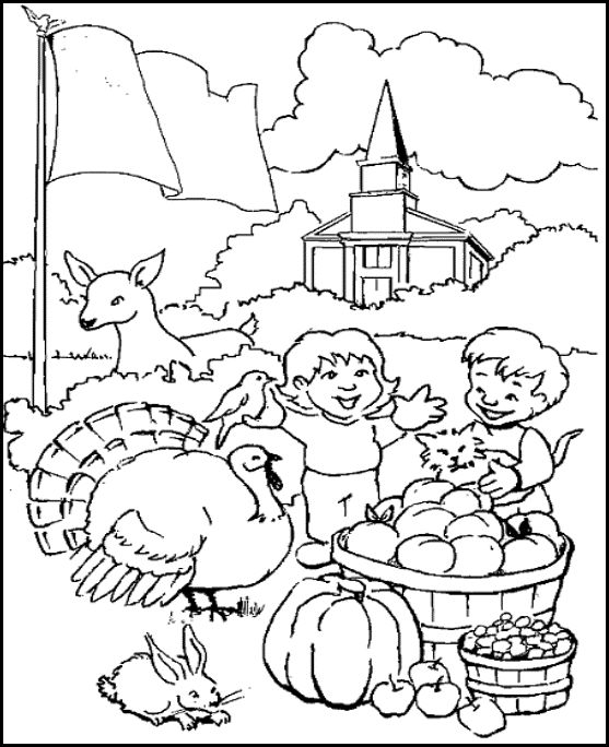 give thanks color sheet Sunday school coloring pages