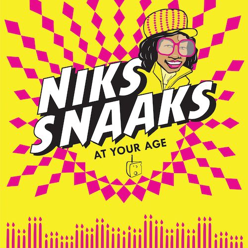 Niks Snaaks birthday card for Kinky Rhino Greeting Cards in South Africa #greetingcard #southafricancard #southafrica #card #notfunny #snaaks #niknaks #southafricanfood #chips #crisps #birthday #food #african #south #africa