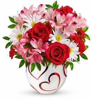 Valentine's Delight Bouquet #valentines #flowers