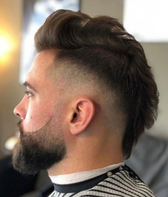 New Trendy Mens Hairstyles Trendymenshairstyles Fade Haircut Haircuts For Men Mohawk Hairstyles Men
