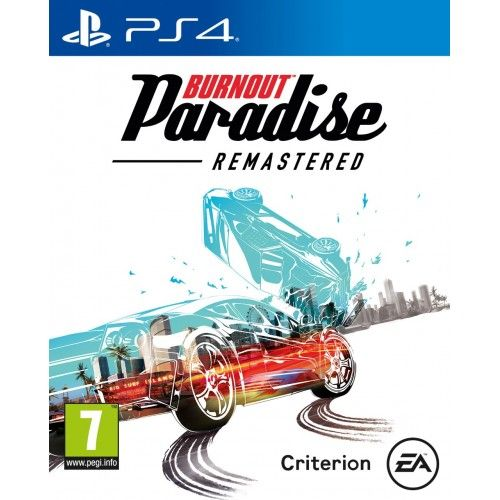 Playstation 4 Burnout Paradise Remastered (PS4) Pre-Order release date 16/03/18