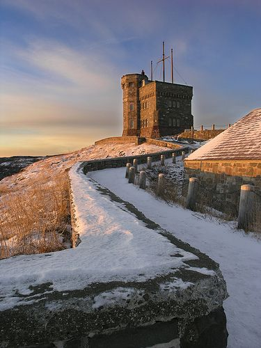 Cabot Tower, St. John's Newfoundland, Canada
