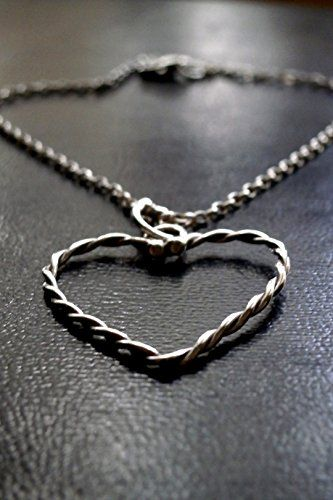 Silver Heart necklace, Silver Chain, Gift for Her, Handmade Necklace, Love & Romantic Necklace, Valentines Gift for Her, Birthday Gift Konstantis Jewelry http://www.amazon.com/dp/B01C8GEPKE/ref=cm_sw_r_pi_dp_Cib0wb02ERMN0