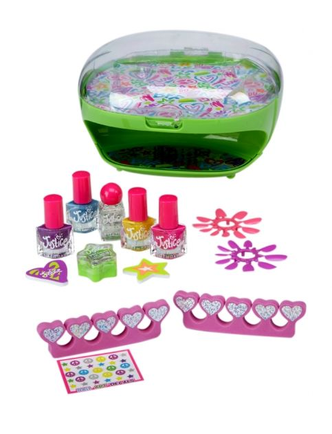 Just For Girls Toys : Doodle nail dryer polish set girls beauty room