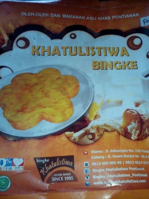 Kue Bingke  khas Pontianak