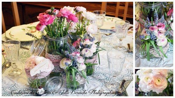 décoration floral  mariage  Pinterest