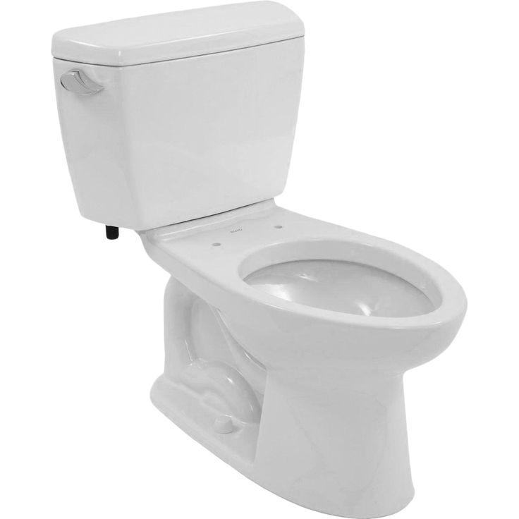 Toto Drake Elongated Cotton Eco E-Max ADA Toilet