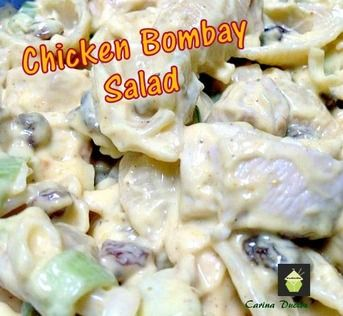 Chicken Bombay Salad - Lovefoodies