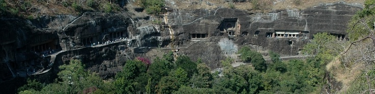 The Ajanta Caves are a series of 29 Buddhist cave temples in Ajanta, India, some of which date from the 2nd century BC. Encompassing both Theravada and Mahayana Buddhist traditions, the Ajanta caves preserve some of the best masterpieces of Buddhist art in India.