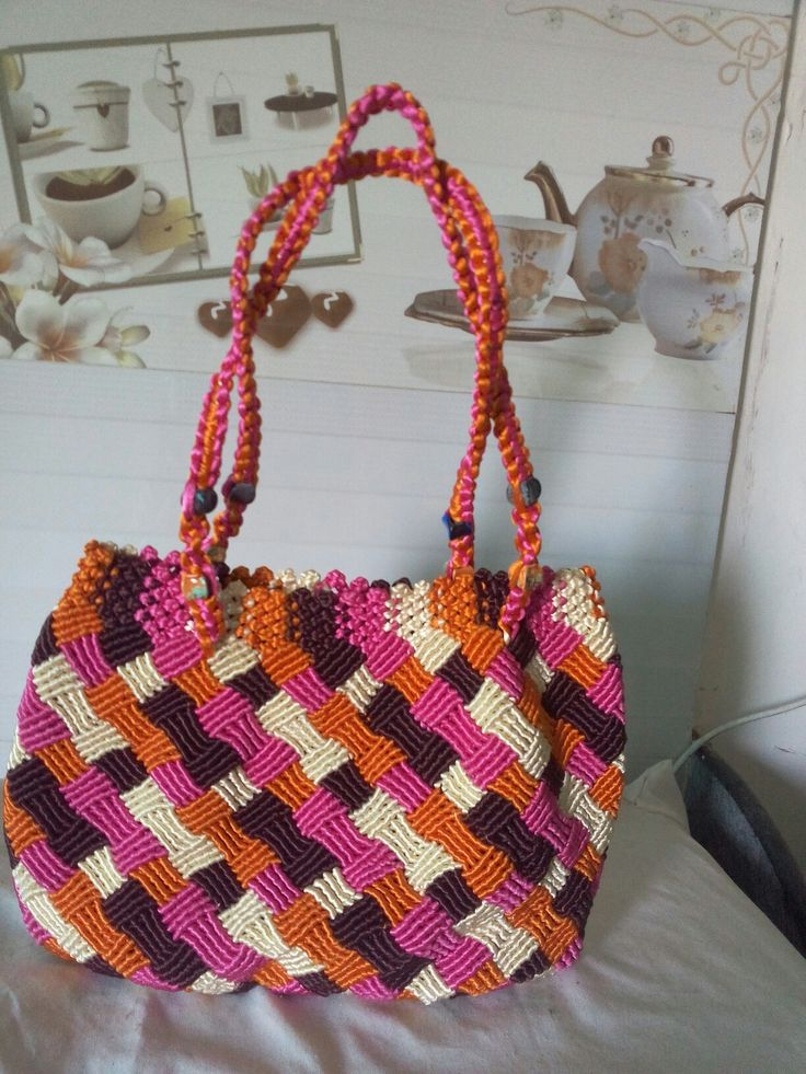 This is my new macram bag