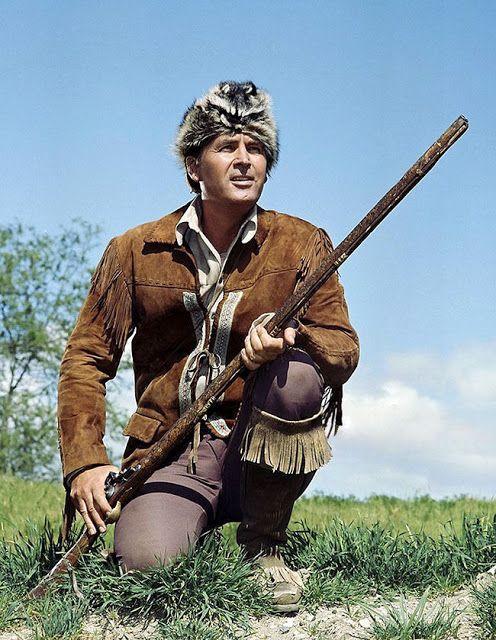 Pop Culture Safari!: Vintage pics: Fess Parker as Davy Crockett