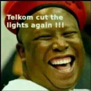 Telkom cut the lights again!!!