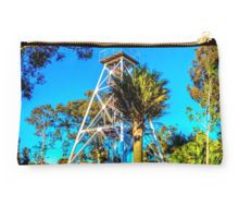 The Poppethead Lookout - Bendigo, Victoria Studio Pouch