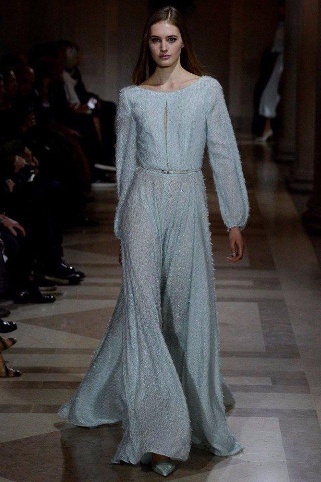 8 шикарных платьев из коллекции Carolina Herrera (осень-зима 2016-17)