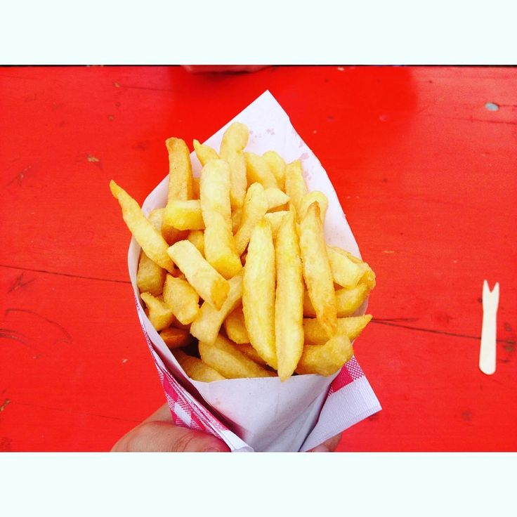 Miam ! Cornet de frites belges !!!