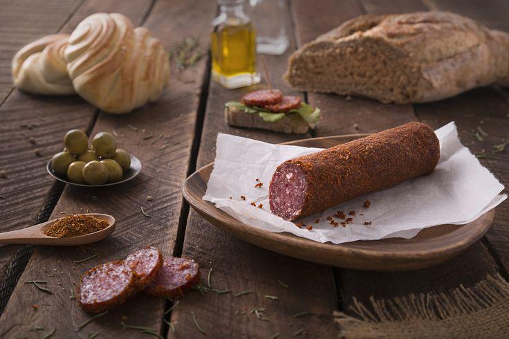 #salami #bread #oliveoil #merken