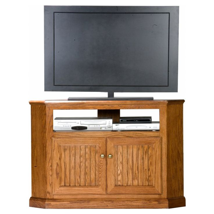 Eagle Furniture Heritage Customizable 46 in. Tall Corner TV Stand - 47735WP
