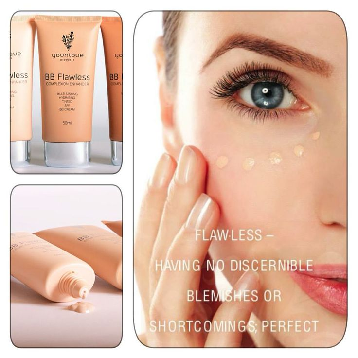 Younique's All Natural BB Cream. Tinted moisturizer you wear as foundation.