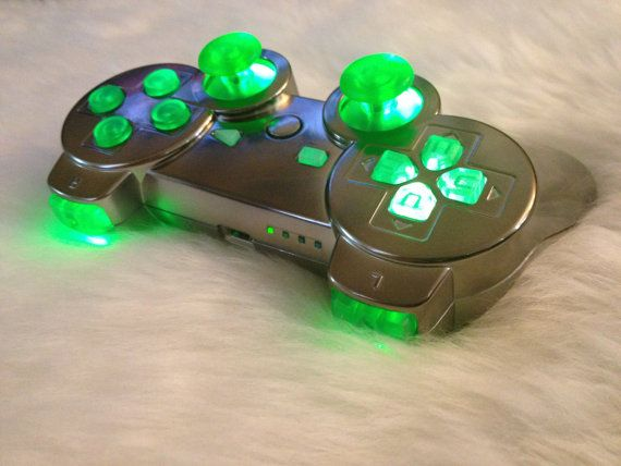 Fully Color Custom Dualshock3 PS3 Controller by Auraruka on Etsy, $90.00