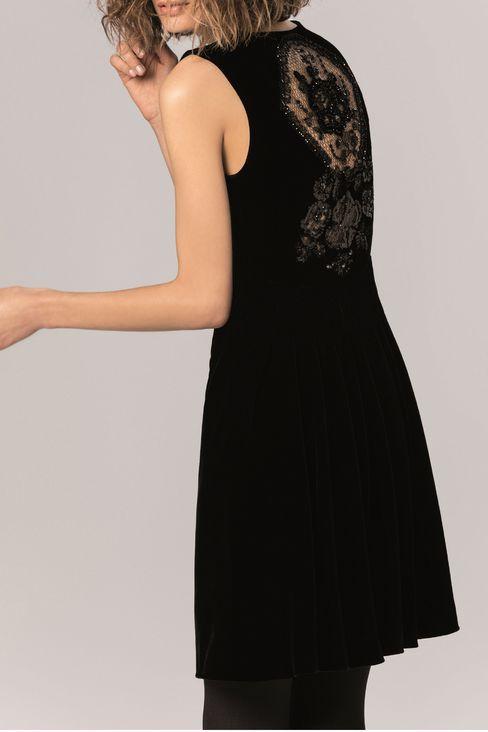 RUNWAY DRESS IN VELVET: Dresses Women by Armani - 2