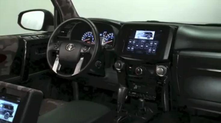 Iata cum pot fi utilizate tabletele iPad pentru a controla o masina Toyota (Video)