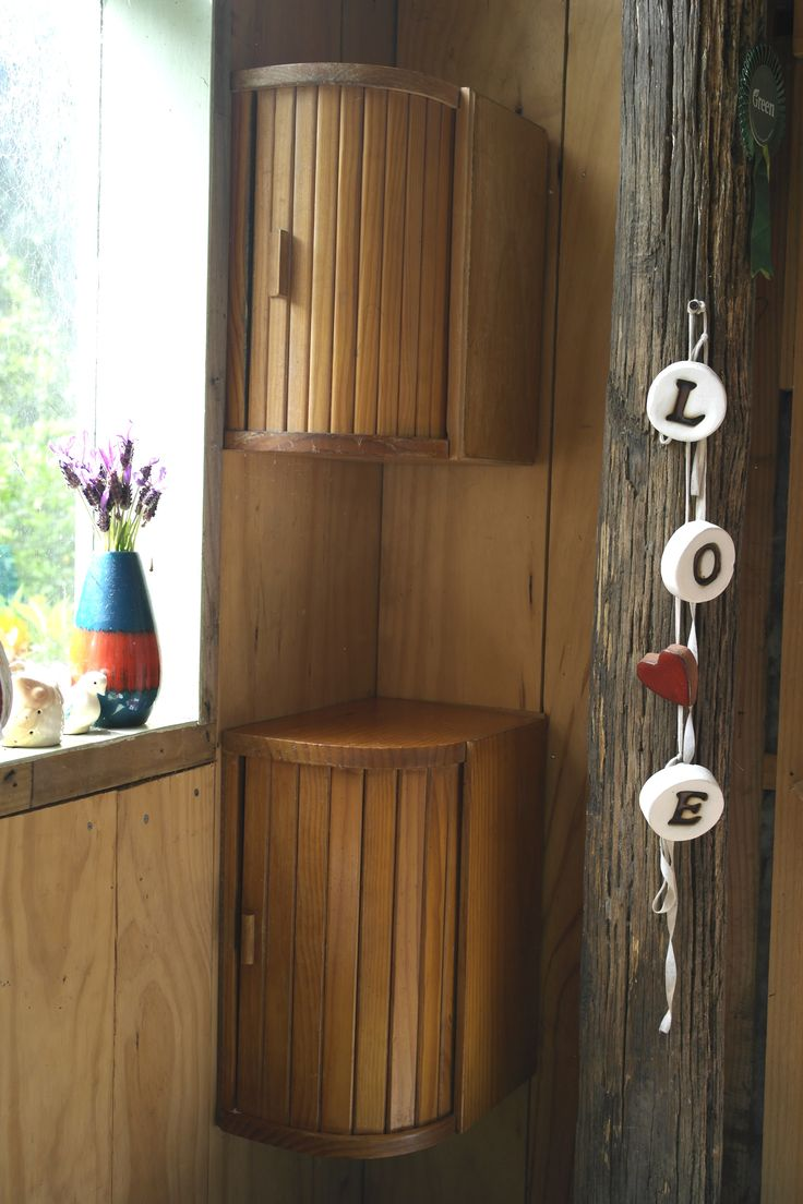 House miniature 1 12 scale bathroom walnut victorian bath tub amp boiler - Upcycled Breadbin Use As An Appliance Garage