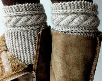 Boot CuffsBoot Cuffs WomensBoot Cuffs WoolBoot by DarlenesGiftShop