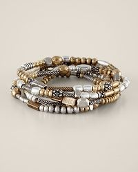 Juneau Bracelets - I like the mixed metals / memory wire