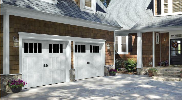 Amarr classica northhampton garage doors with thames for Garage door repair bradenton